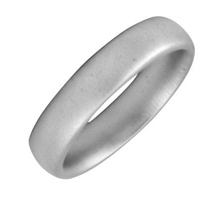 Simply Stacks Sterling 4.25mm Satin Ring