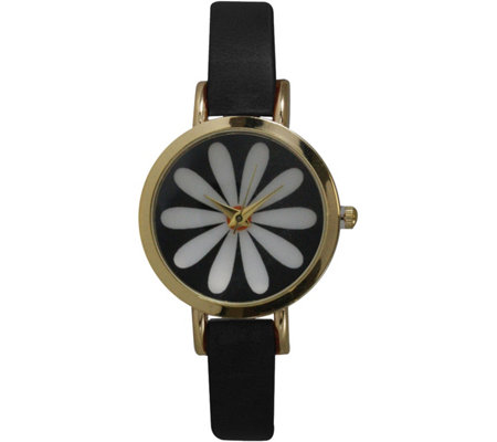Olivia Pratt Vintage Inspired Flower Watch