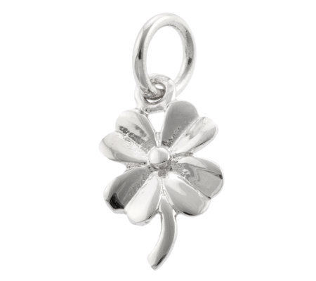 Mixers Sterling Four-Leaf Clover Pendant