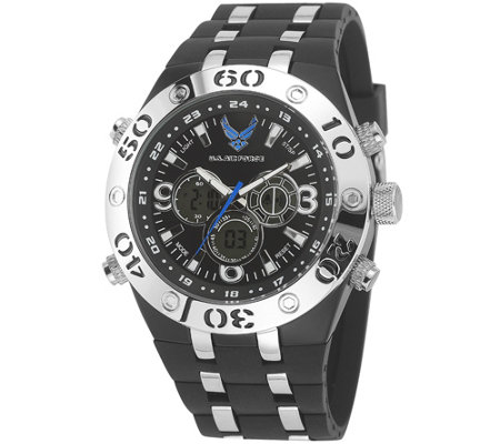 Wrist Armor U.S. Air Force C23 Multifunction Watch - Black