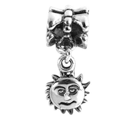 Prerogatives Sterling Sun Dangle Bead