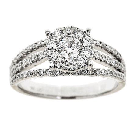 Affinity 1 05 Cttw Diamond Ring 18k Gold