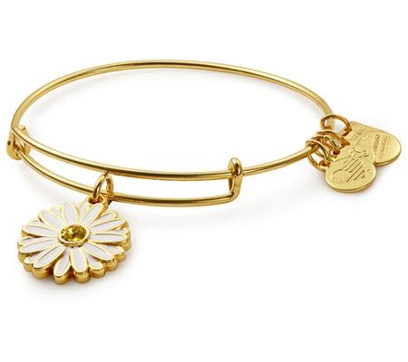 Alex and Ani Daisy Charm Bangle - UNICEF