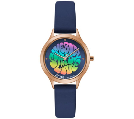 Bcbg Generation Ladies Blue Band Watch