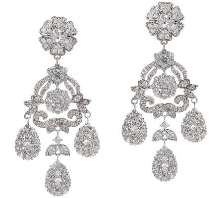 The Elizabeth Taylor 12 40 Cttw Simulated Diamond Earring