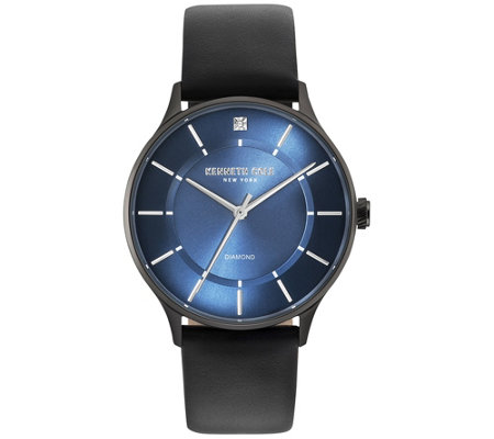 Kenneth Cole Ny Men S Blue Dial Watch