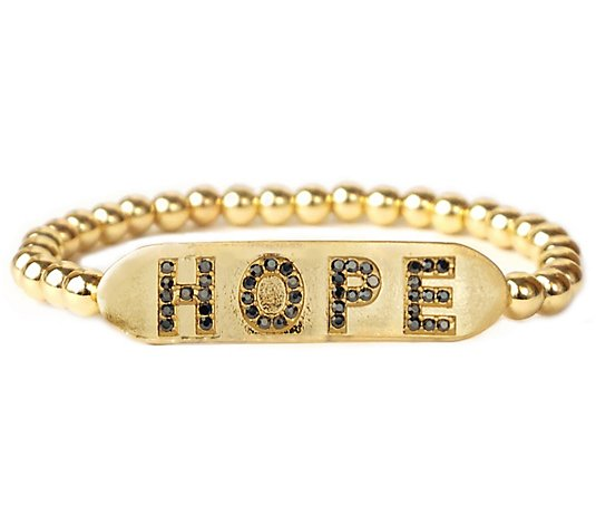 Marlyn Schiff Hope Stretch Bracelet