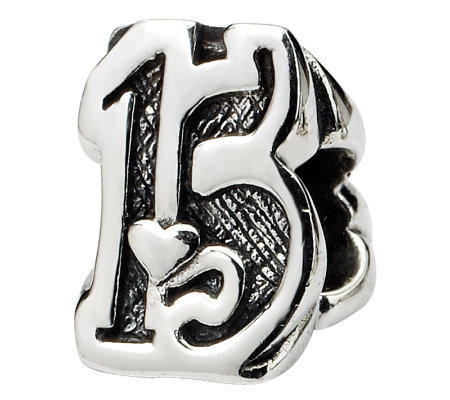 Prerogatives Sterling Silver Sweet 15 Bead