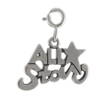 Sterling All Star Charm