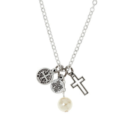 My Saint My Hero Divine Protection Charm Necklace