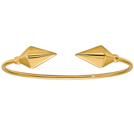 Italian Gold Flexible Cuff 14K, 5.7g