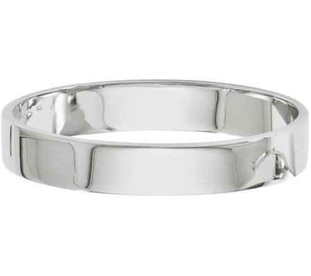 Sterling Silver Polished Bangle, 27.5g