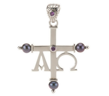 Aldo Orta Sterling Gemstone Alpha Omega Cross Enhancer Page 1