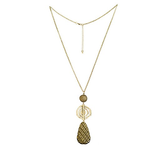Linea by Louis Dell'Olio Pineapple Pendant Necklace