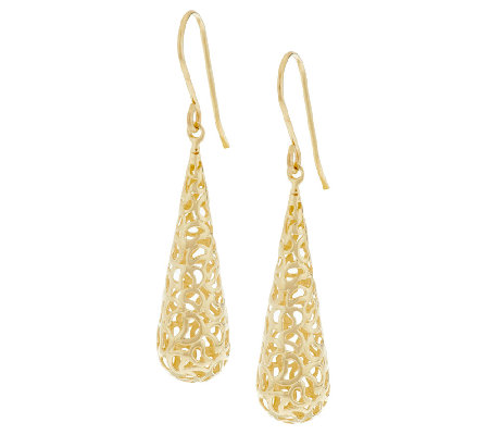 Adi Paz Filigree Teardrop Earrings 14k Gold