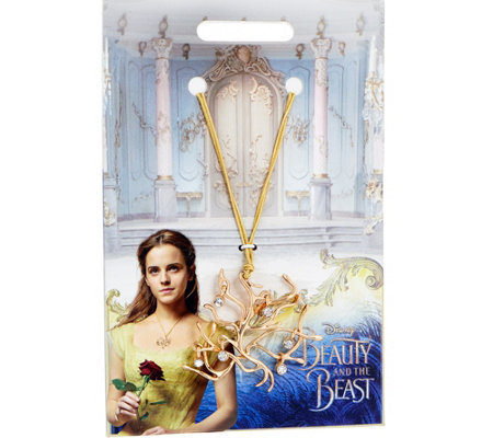 Disney's Beauty and the Beast Reproduction Pendant