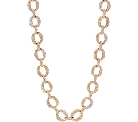 "Grace Kelly Collection Bold Link 37"" Necklace"