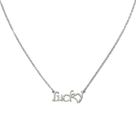 Stainless Steel Lucky Necklace