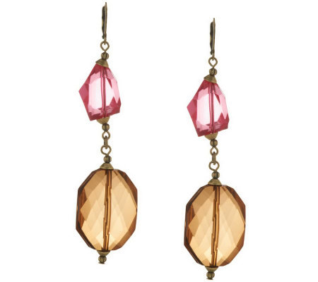Linea by Louis Dell'Olio Faceted Bead Drop Earrings