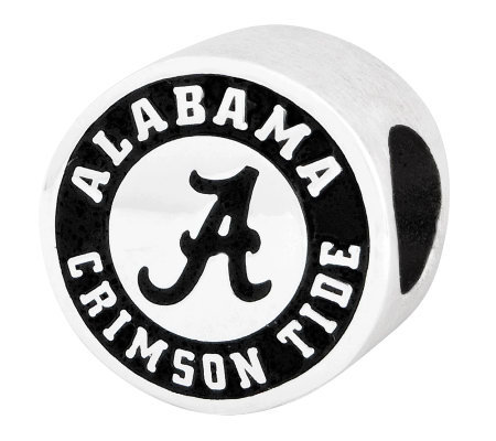 Sterling Silver University of Alabama Bead
