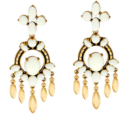 Stella & Dot Havana 2-in-1 Chandelier Earrings
