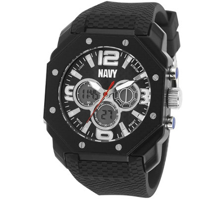 Wrist Armor U.S. Navy C28 Multifunction Watch -Black