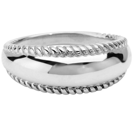 Carolyn Pollack Possibilities Sterling Silver Band Ring