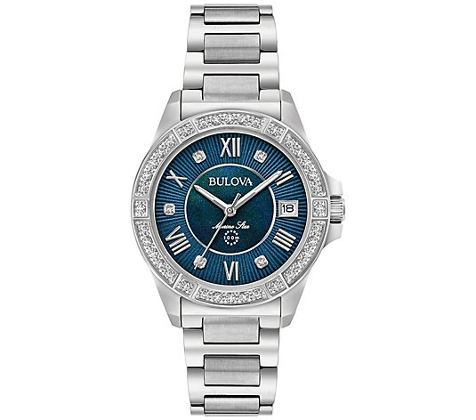 Women's Marine Star Diamond Accent Bracelet Watch
