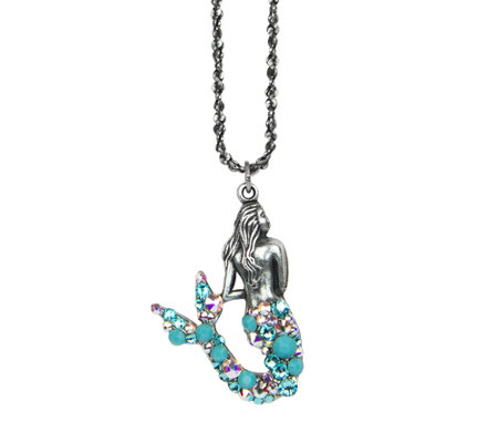 Anne Koplik Mermaid Pendant w/ Chain