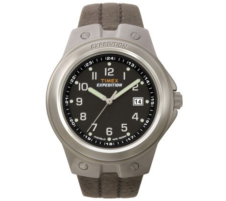 Timex Men's Expedition Analog Metal Tech CasualWatch