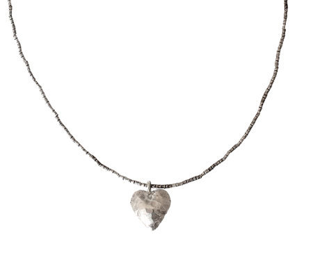 "Novica Artisan Crafted Sterling ""Simple Lover""Necklace"