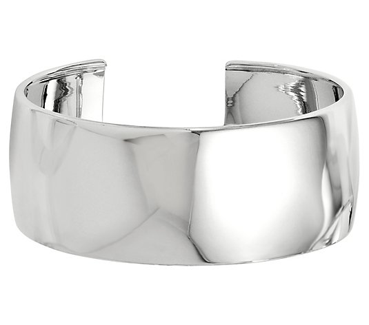 Sterling Silver Polished Cuff, 29.1g