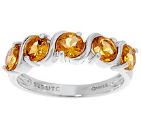 1.00 cttw 5 Stone Gemstone Ring Sterling - J349529