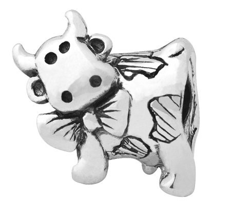 Prerogatives Sterling Dairy Cow Bead