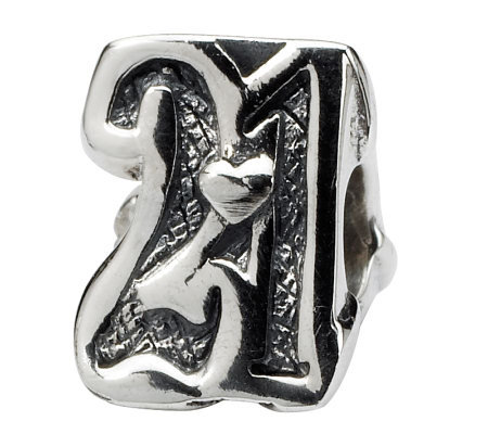 Prerogatives Sterling Silver Sweet 21 Bead