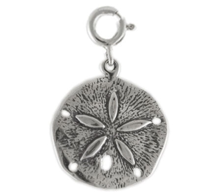 Sterling Sand Dollar Charm