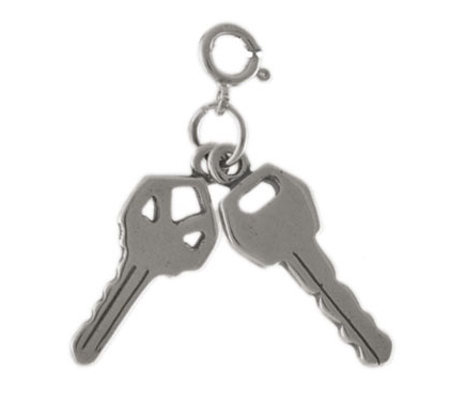 Sterling Set Of Keys Charm