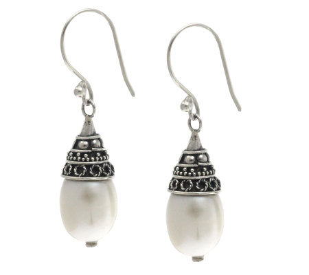 Novica Artisan Crafted Sterling Silver 'Bell Beauty' Earrings