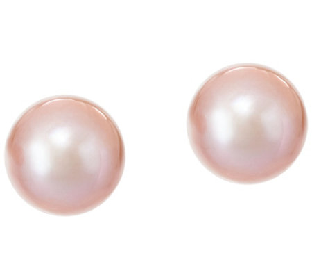 Honora 14K Gold 13.0mm Ming Cultured Pearl Stud Earrings