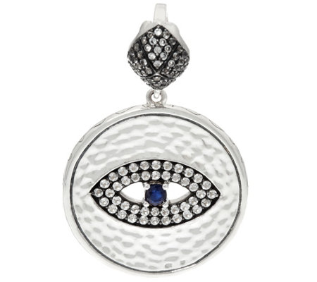 Luv Tia Sterling Silver All Seeing Eye Enhancer