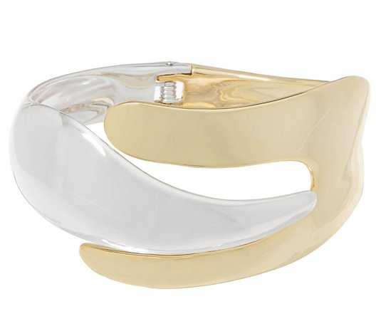 RLM Bronze Two-Tone Hinged Cuff