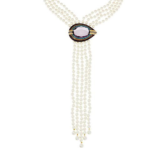 Joan Rivers Private Collection Evil Eye Necklace