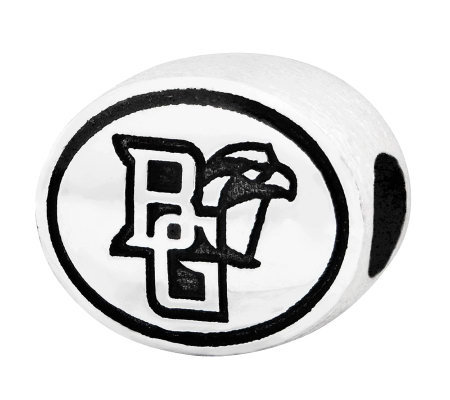 Sterling Silver Bowling Green University Bead