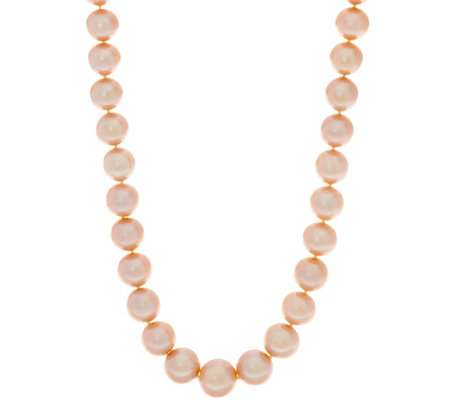 "Honora 14K Gold 12.0mm - 15.0mm Ming Cultured Pearl 36"" Necklace"