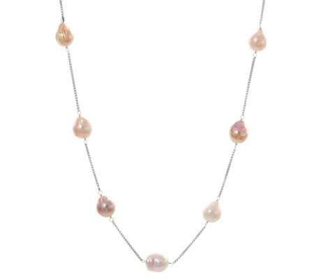 "Honora Ming 11.0mm - 13.0mm Cultured Pearl 30"" Adjustable Necklace"