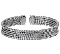 ALOR Cable Stainless Steel 5-Row Flexible Cuff - J354334