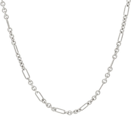 "Carolyn Pollack Sterling Silver Status Link 18"" Chain Necklace 12.4g"