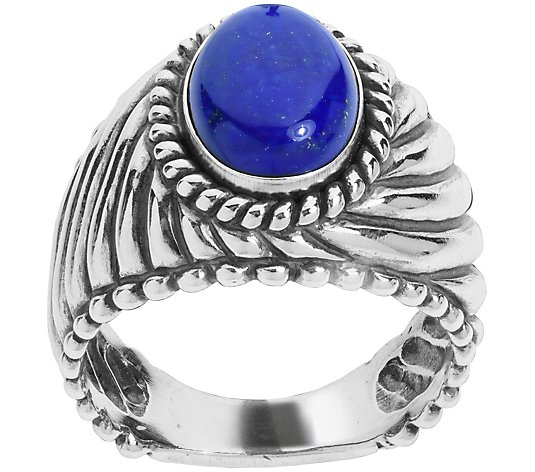 American West Sterling Men's Bold Ring
