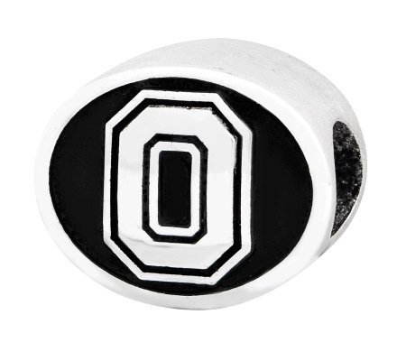 Sterling Silver Ohio State University Bead
