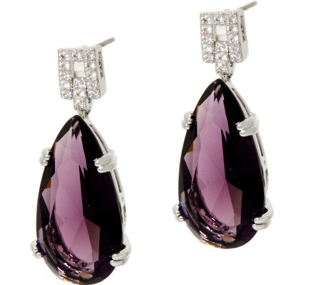 Joan Rivers Private Collection Teardrop Earrings